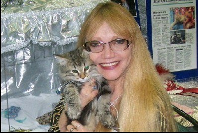 Lynda with kitty